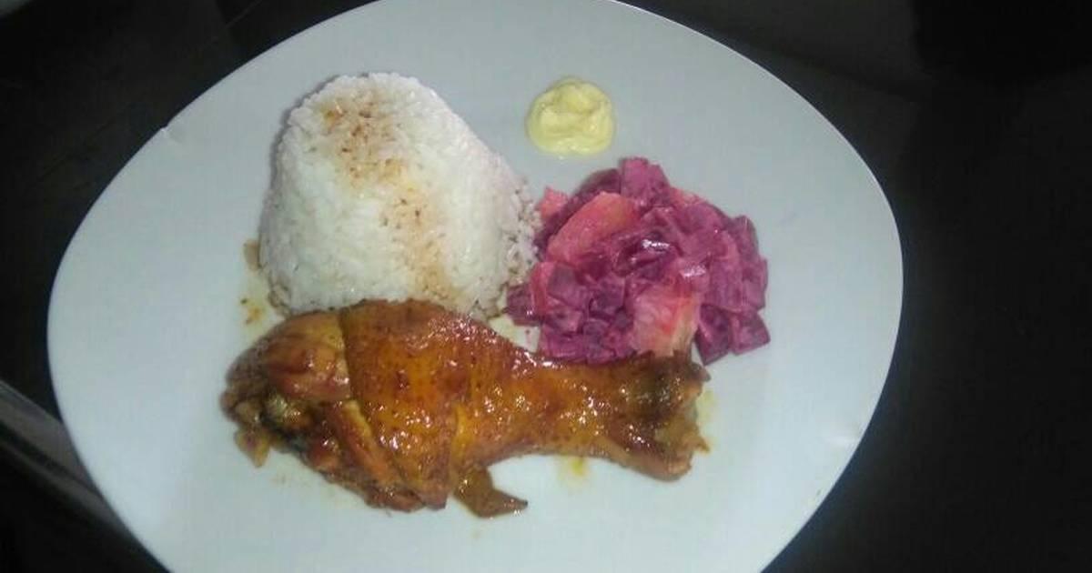 recipe: ensalada rusa con pollo al horno [2]
