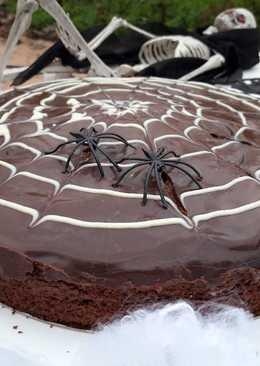 Tarta halloween telaraña