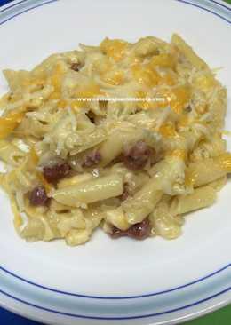 Macarrones con queso al horno 59 recetas caseras cookpad - Macarrones con verduras al horno ...