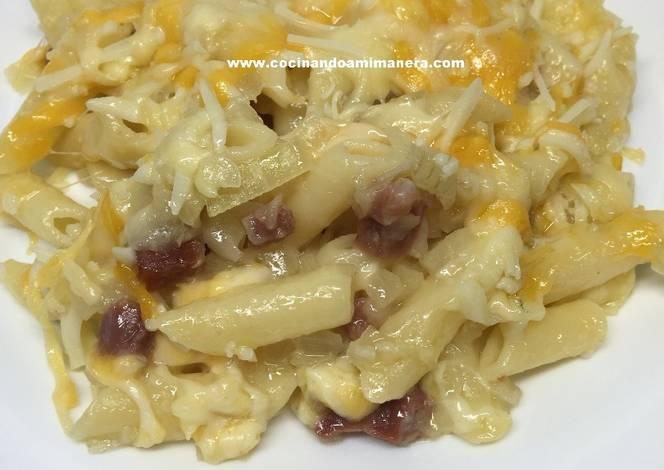 Macarrones con queso al horno receta de luisa c correcher cookpad - Macarrones con verduras al horno ...