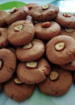 Galletas veganas de avellana y chocolate