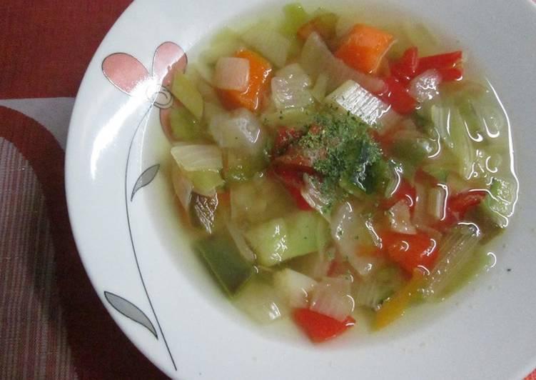 Sopa quemagrasas Receta de Gabriela Diez - Cookpad