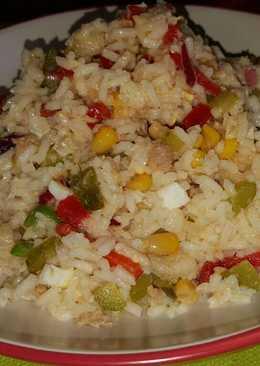 Ensalada de arroz (vegetariano)