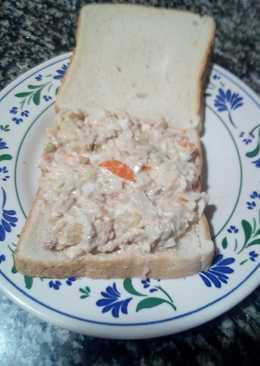 Sándwich ensaladilla a mi manera