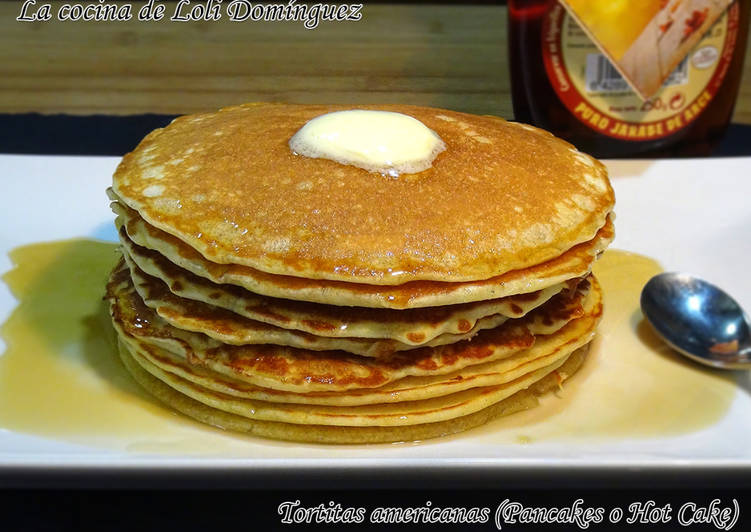 Tortitas americanas (Pancakes o Hot Cake)