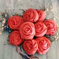 Galletas de rosas