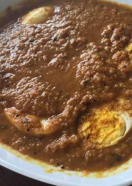 Curry con huevo🍳 la receta de mi amiga india