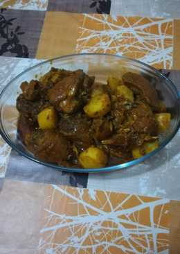 Pollo Campero al estilo marroquí en la olla Gr G