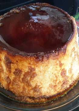Flan de queso y coco (en thermomix)