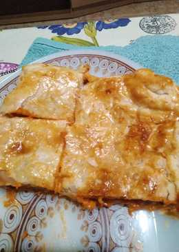Empanada de atún con queso y bacón