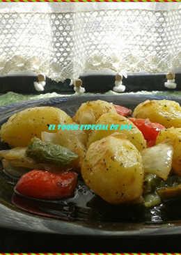 Patatas con sabor a campo