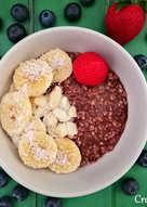 Overnight oats o gachas de avena frías