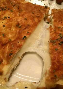 Tortilla de provolone