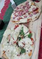 Pizzas en sartén