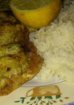 Marineras de hígado y carne arroz con queso