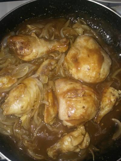 Pollo a la coca cola