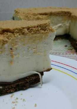 Tarta de nata con leche condensada