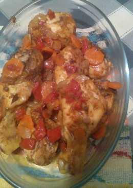 Muslitos de pollo al estilo marroquí