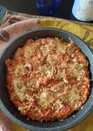 Arroz con tomate y pavo al horno