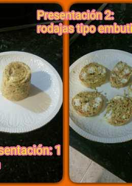 Tortilla de tomate con queso fresco
