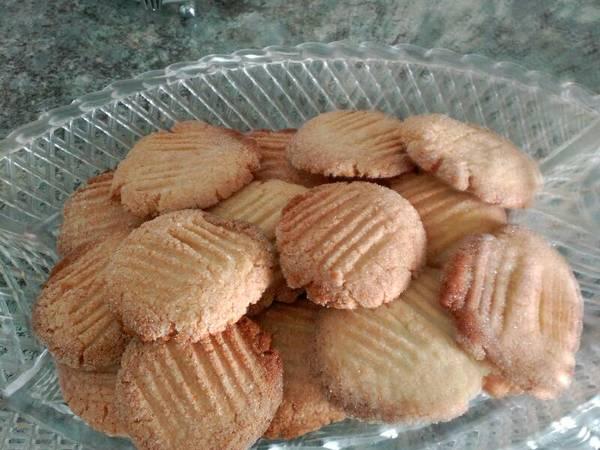 Galletas de mantequilla en thermomix