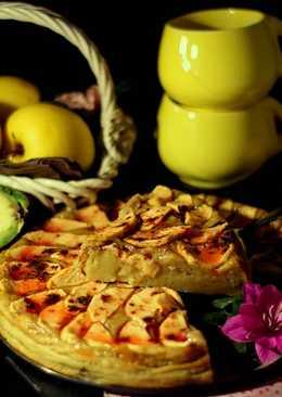 Tarta de Manzana y Aguacate Light