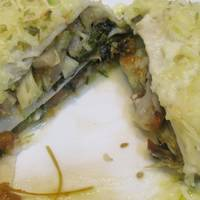 Lasaña de verduras con Kale