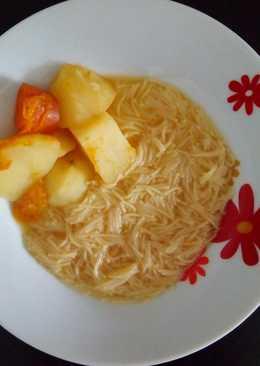 Sopa de calabaza y vegetales (súper fácil)