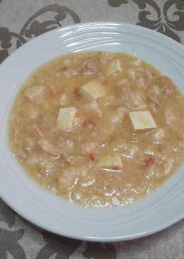 "🇮🇹""Pappa al pomodoro italiana"" sin gluten vegana"