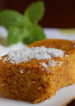Bizcocho de zanahoria sin gluten ni lactosa en el microondas, en tan solo 7 minutos