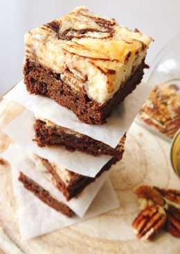 Brownie cheesecake con Kit-Kat
