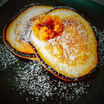 Hotcakes de Yogourt y Coco