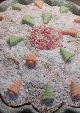Cake nevado para Navidad
