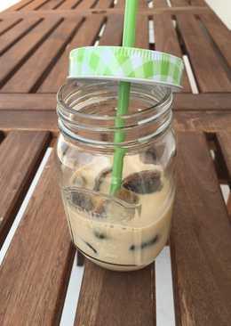 Café con leche helado