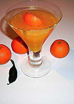 Gelatina de mandarinas