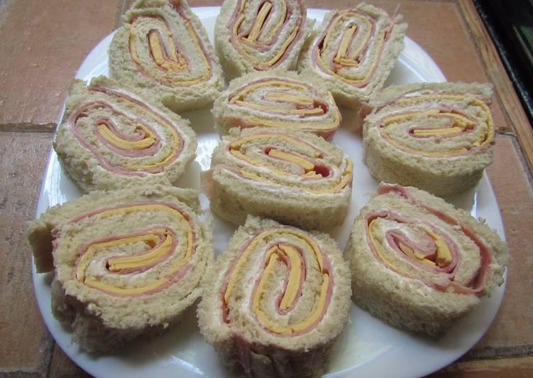 Ni o envuelto de jam n y queso amarillo receta de fabicea for Canape de jamon y queso
