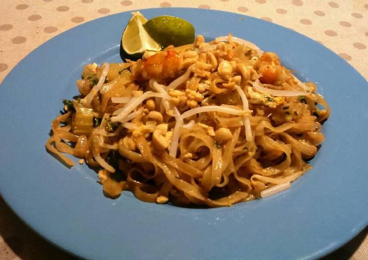 Tallarines Tailandeses  Pad thai Noodels Receta de Roberto