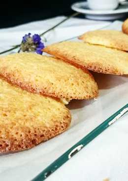 Pastas de coco sin harina
