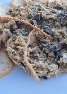 Revuelto de algas y caviar de erizo