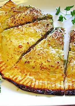 Empanada de brócoli y atún en conserva