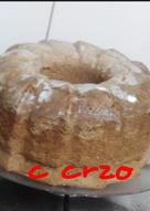 Bizcocho 1-2-3 en microondas