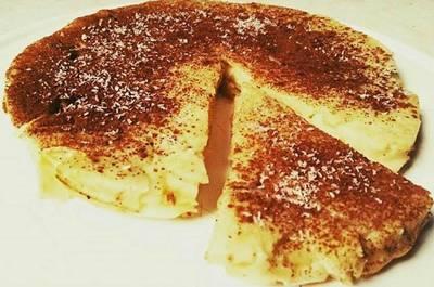 Torta de manzana light