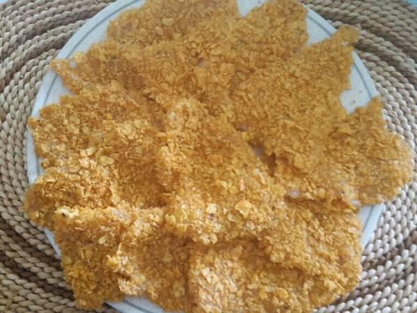Pechuga de pollo con doritos
