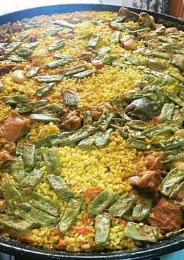 Paella valenciana paso a paso