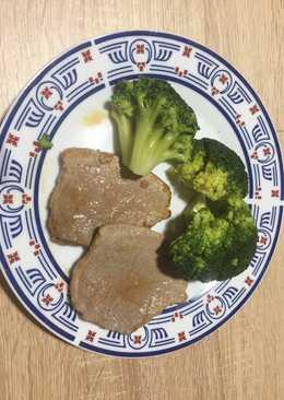 Redondo de ternera y brócoli