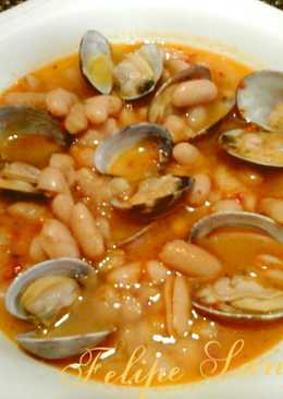 Cocinar Fabes Con Almejas | Alubias Con Almejas 53 Recetas Caseras Cookpad