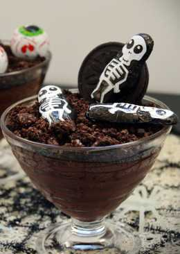 "Natillas de Chocolate ""Especial Halloween"""