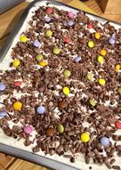 Bizcocho de chocolate con cobertura de nata 🍦🍫 -bizcocho húmedo-