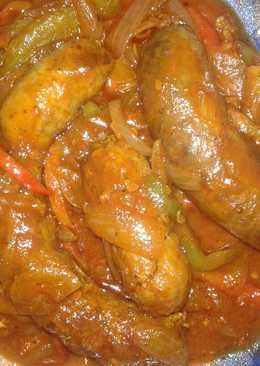 Chorizo a la pomarola 😊