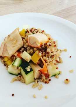 Quinoa con surimi